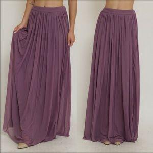 Bohemian ,Gypsy ,Maxi skirt